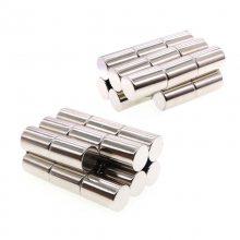 金聚进 专业认证 永磁钕铁硼磁钢 N35吸铁石 磁石 强力磁铁圆形10mm*5
