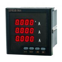 LEF818I-9K4三相数显电流表/数码管显示