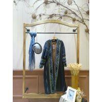 南京高端棉麻品牌吉丘古儿女装折扣店一手货源