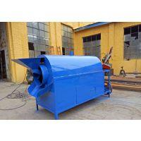 可定制大型电加热花生炒货机不锈钢滚筒炒货机自动恒温炒籽机