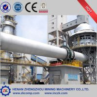 郑矿供应200t/d-1000t/d石灰生产线 石灰石煅烧设备成套设备 石灰生产厂建设搭建