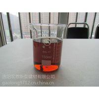 厂家研发生产销售HongEn牌棕红色液体矿渣激发剂