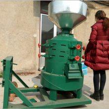 电动家用高粱脱壳机 启航立式电动水稻碾米机 多功能型剥谷机哪里有卖