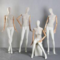 服装模特道具 男女全身模特 迈亚国际站坐姿势包布模特 厂家直销
