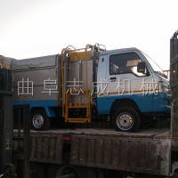 山东生产四轮电动垃圾车厂家 志成自动装卸环卫车 四轮自卸翻桶车2000型