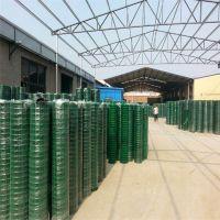 唐山养殖网 绿色护栏网 菜园包塑铁丝网 浸塑荷兰网