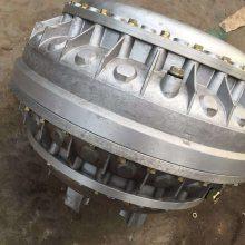 新乡金田YOX400/500/560液力偶合器限矩型油介质耦合器 塔机 皮带机用液力偶合器