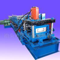 全自动c型钢压瓦机 80-300c型钢檩条机 液压扭断c型钢机设备