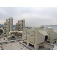 PP活性炭吸附塔气味油漆废气处理环保设备pp活性碳吸附箱
