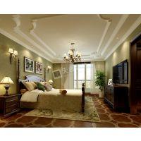 渝北力帆棠悦卧室欧式风格装修设计案例欣赏
