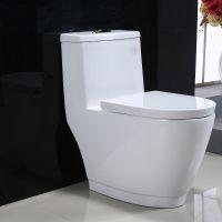 贴牌白色陶瓷一体家用座便器工程新款卫生间马桶坐厕