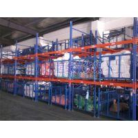 恒缘诚惠州货架厂500KG蓝+橙色4层中型货架批发价格优惠规格齐全质量好