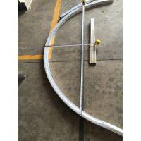 定制各种拉弯异形造型弧形铝方通 价格询欧百得13422371639李生