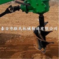 黑龙江 供应 四轮悬挂式 联民50直径再输挖坑机