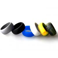 热卖硅胶时尚欧美戒指、环保指环 可印刷LOGO、运动手指环 创意戒子 硅胶礼品定制