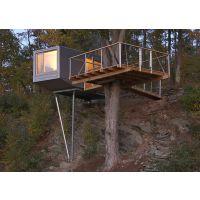 东莞绿林营地厂家定做个性31平方舒适经济型树屋