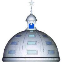 上海银松团队精心设计打造别墅穹顶造型