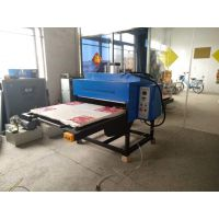 气动型热升华转印机大幅面压烫机布料双工位热压升华机