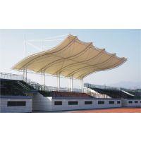 高尔夫球场遮阳棚体育看台张拉膜室外网球场膜结构