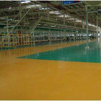 惠州环氧树脂防静电薄涂施工,工厂环氧树脂防静电自流平地坪工程