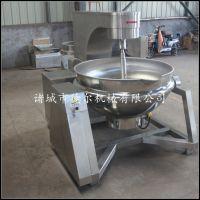 高粘度果酱熬制锅 小型电加热行星搅拌炒锅 液压全自动翻炒设备