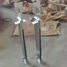 金裕 304楼梯扶手栏杆\护栏栏杆\不锈钢阳台立柱-穿管型立柱LZ1003