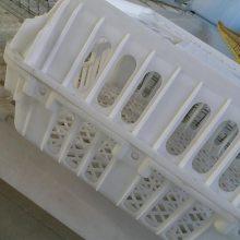 成鸡周转箱 塑料鸡用周转筐 运输鸡筐 全新料鸡笼