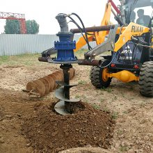 改装 挖坑机配件 拖拉机挖坑机改装 洪涛厂家直销