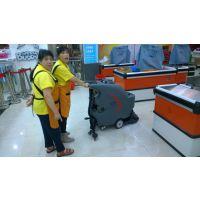 南宁高美洗地机超市清洗地面优化购物环境