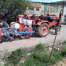 启航拖拉机动力苞米播种机 山西省免耕地大豆精播机 多行玉米施肥播种机价格