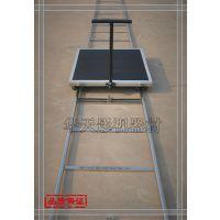 摄像防滑面静音轮轨道车+A型不锈钢轨道滑轨影视滑轨 摇臂轨道