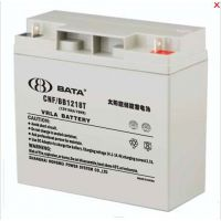 鸿贝蓄电池CNF/BB1218太阳能专用铅酸蓄电池报价