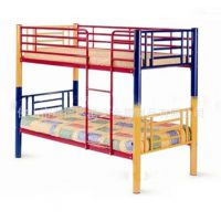 佛山金属床厂家 儿童公寓床 上下铺铁床 简约员工高低床 分体双层铁床