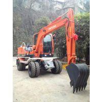 新源XY65W-8T轮式挖掘机