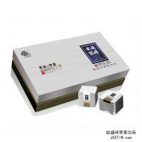 银峰绿茶礼盒配套 配通版无印刷铁盒 马口铁包装盒