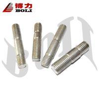 厂家直销8.8级细杆镀锌双头螺栓/螺柱/螺丝 质量保证