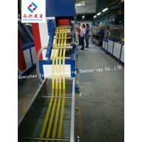 永兴展星 专业订做YXZXPP110A一出四打包带生产线
