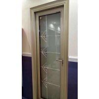 佛山厂家供应铝合金门窗 1.2厚厕所平开门 防水静音