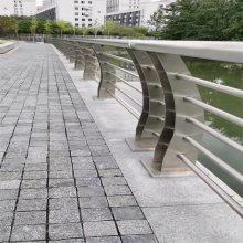 金裕 国标304不锈钢景观护栏 不锈钢板护栏立柱 拉丝不锈钢栏杆面管