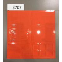 300x300凹凸亮光纯色釉面砖 300*300六方格亮面彩色瓷砖 300mm巧克力形状光面纯色墙砖