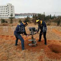 生产直销大功率挖坑机汽油四冲程打洞机双人植树机农用地钻
