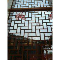 铝制品铝花格_格子铝挂落_木纹转印铝窗花德普龙选购中心!