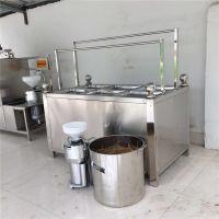 鲁辰LC燃气蒸汽油皮机 手工豆油皮机价格 厂家自产自销腐竹机