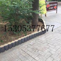 厂家热销威海地区水泥仿木桩,仿树皮护栏栅栏