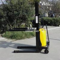 先沃堆高车半电动小型液压叉车全自动升降铲车1吨2吨升高搬运车