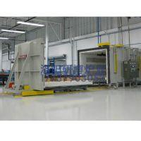 台车热处理炉 工业台车炉 热处理台车炉-研博炉业