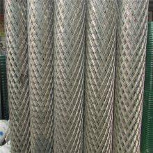 中型钢板网 金属板拉伸网 建筑业菱形网