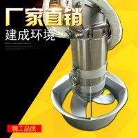 河南潜水搅拌机 铸件式潜水搅拌机 建成厂家直销