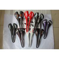 SMP碳纤维自行车座垫鞍座,尺寸123x275,颜色黑色、白色、蓝色、红色,可加工定制
