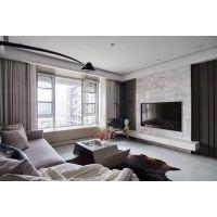 滨湖双玺170平现代风格装修案例效果图半包7.2万
